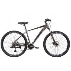 """Велосипед AL 29"""" Formula ZEPHYR 3.0 AM DD 2022 (черно-серый (м)) Formula OPS-FR-29-174"""