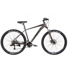 """Велосипед AL 29"""" Formula ZEPHYR 3.0 AM DD 2022 (темно-серебристый с черным (м)) Formula OPS-FR-29-169"""