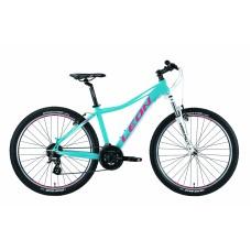 """Велосипед 26"""" Leon HT-LADY AM 14G Vbr алюминиевый 2019 (бирюзовый) LEON OPS-LN-26-042"""