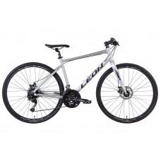 "Велосипед 28"" Leon HD-80 2021 (серый (м)) LEON OPS-LN-28-015"
