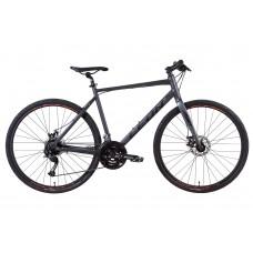 """Велосипед 28"""" Leon HD-80 2021 (графитовый с черным (м)) LEON OPS-LN-28-018"""