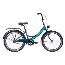 """Велосипед 24"""" Formula SMART с фонарём 2021 (малахитовый) Formula OPS-FR-24-248"""