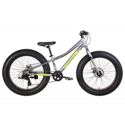 """Велосипед 24"""" Formula PALADIN 2021 (серо-зелёный с черным (м)) Formula OPS-FR-24-297"""