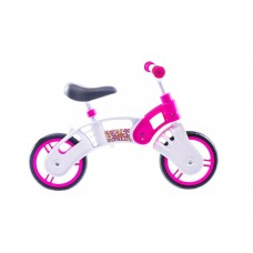 "Беговел 10"" SMALL RIDER Pl (бело-розовый) BLB-10-005-6"
