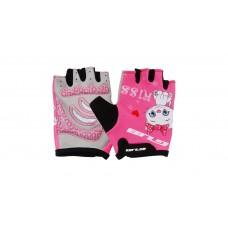Перчатки велосипедные детские GUB S022 розовый размер  S/M CLO-051