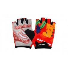 Перчатки велосипедные детские GUB S022 красный размер L/XL CLO-046