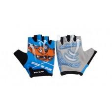 Перчатки велосипедные детские GUB S022 голубой размер L/XL CLO-047