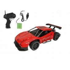 Машинка для ДРИФТА, задний привод на р/у 2,4GHz 1:24 Sulong на аккумуляторах Metal High Speed Car красный (SL-218AR)