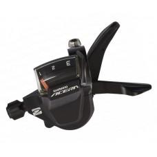 Велосипедная манетка левая L3 черн SHIMANO ACERA SL-M3000 (черный) SHLL-022