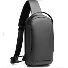 Сумка плечевая повседневная EDC слинг бананка рюкзак однолямочный Bange BG-7221 серый (bag-03b)