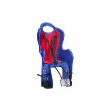 Велосипедное кресло детское Elibas T HTP design на раму синий CHR-004-1