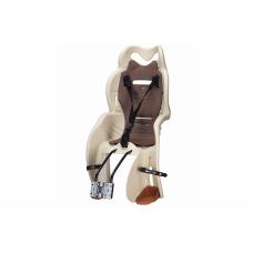 Велосипедное кресло детское Sanbas T HTP design на раму бежевый CHR-006-1
