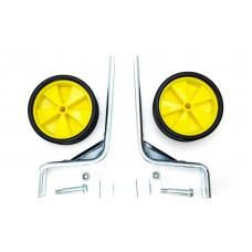 """Опорные (тренировочные) колеса усиленные FSK-BH-214 для детск. вел. 12""""-20"""" желтые с черным (желтый с черным) WHS-021"""