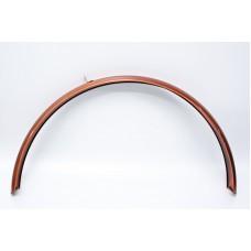 """Велосипедное крыло заднее 28"""" стальное YS 9533 COMFORT MALE Dorozhnik 2017 (коричневый) MUDR-125-50"""
