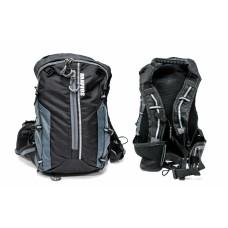 Рюкзак QIJIAN BAGS B-300 44х26х9cm черно-серый BKP-004