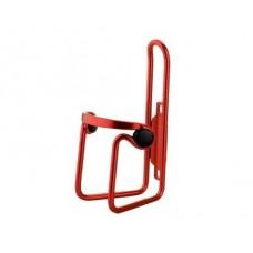 Велосипедный флягодержатель BC-BH9253 алюминиевый с пластиковыми клипсами красный VELO CGE-030