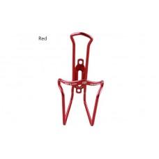 Велосипедный флягодержатель GUB 05 алюминиевый ультралегкий красный CGE-033