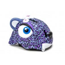 """Шлем велосипедный детский CIGNA """"Пурпурный леопард"""" HEAD-042"""