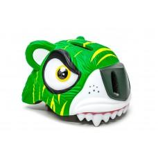 """Шлем велосипедный детский CIGNA """"Зеленый тигр"""" HEAD-044"""