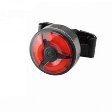 Велосипедный фонарь габаритный задний (круглый) BC-TL5480 LED, USB (красный) VELO LTSS-044
