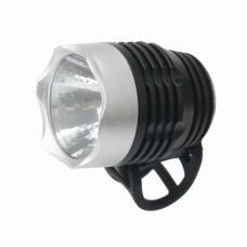 Велосипедный фонарь передний BC-FL1571 0.5w LED, питание батарейки 2хCR2032 пластиковый VELO LTSS-041